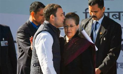 Sonia Gandhi — power behind Congress throne