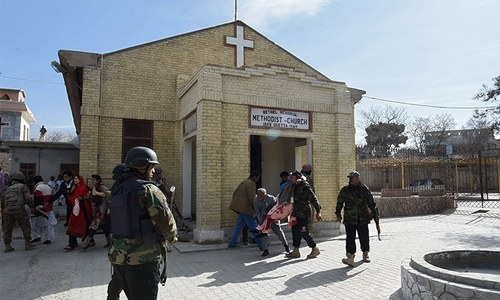 8 killed in suicide attack on Quetta's Bethel Memorial Methodist Church