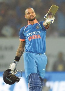 Dhawan, spinners lead India to eighth straight ODI series win