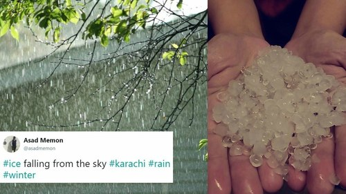 All hail broke loose in Karachi and Twitter is here for it