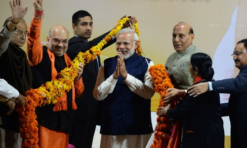 Modi declares victory in closely-fought Gujarat, Himachal Pradesh