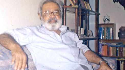 Renowned Sindhi writer Amar Jaleel receives Kamal-i-Fun award