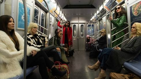 Sandra Bullock gears up for the ultimate heist with her girl squad in Ocean's 8 trailer