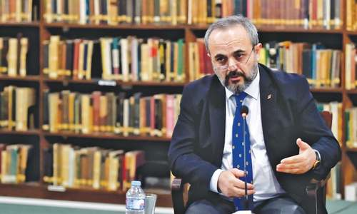 Historian discusses Turkey's ties with subcontinent's Muslims