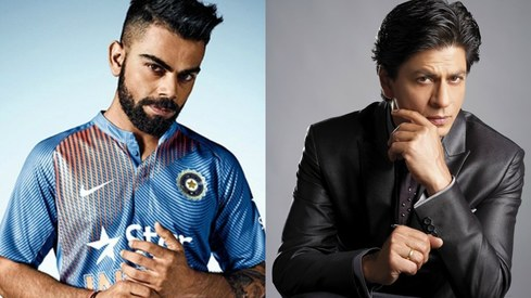 Virat Kohli overtakes Shah Rukh Khan as the most valuable celeb in India