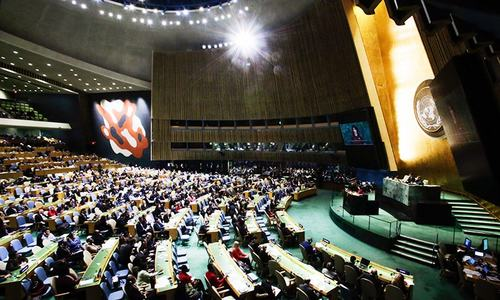 UN votes 128-9 to reject Trump's decision on Jerusalem