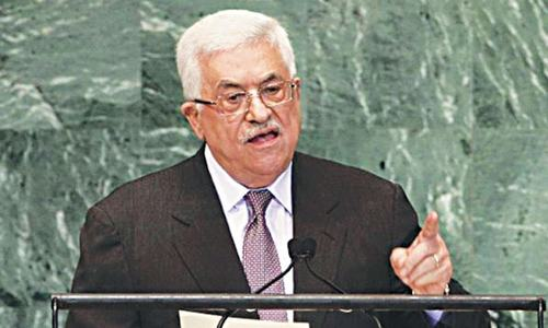 Abbas rejects US peace plan after Jerusalem vote