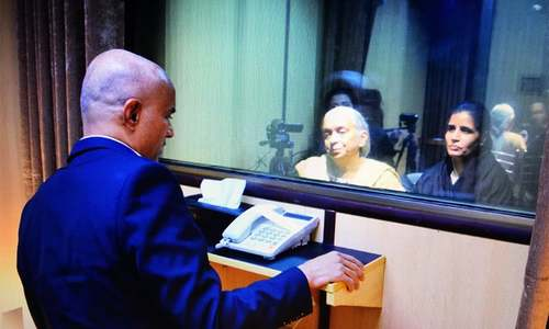 Kulbhushan Jadhav's wife, mother meet Indian spy in Islamabad
