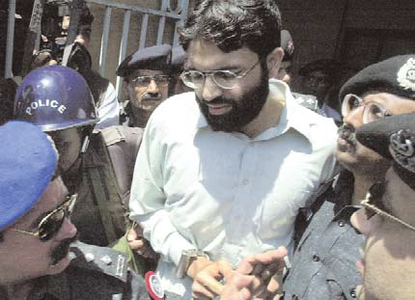 Ahmed Omar Saeed Shaikh in custody