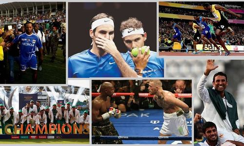 2017 in review: 10 sporting moments that made the outgoing year memorable