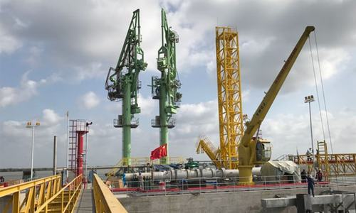 Gas supplies jump as critical project finally starts