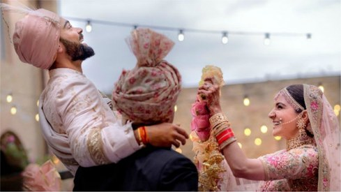 Virushka's wedding announcement becomes most retweeted post of 2017