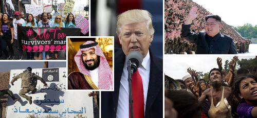 2017 in review: Key global events that shaped the outgoing year
