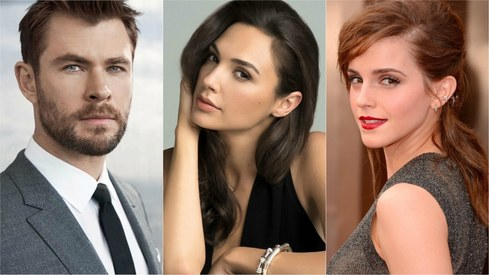 Golden Globes 2018 presenters list includes Gal Gadot, Chris Hemsowrth and Emma Watson