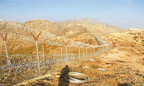 Military pushing ahead with Afghanistan border fencing