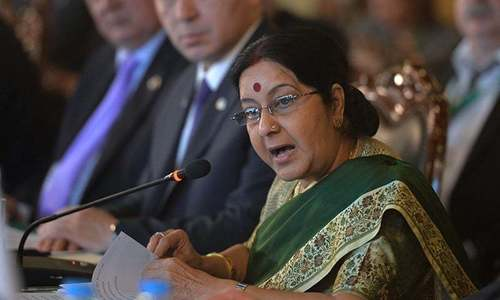Pak-India cricket series unlikely in light of 'high number of LoC violations': Sushma Swaraj