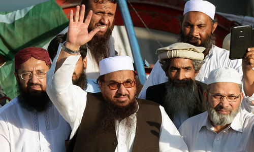 Hafiz Saeed's Jamaatud Dawa, others barred from collecting charity