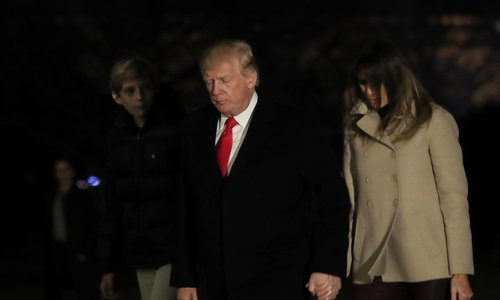 With perils abroad and a full plate at home, Trump starts 2nd year of presidency