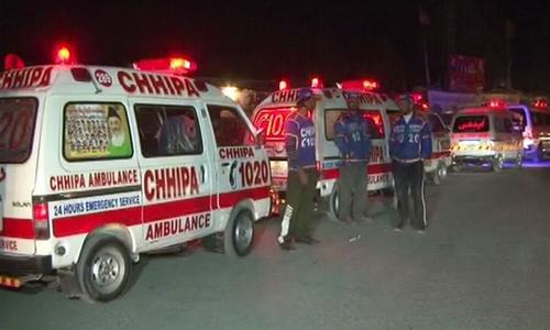 Six security personnel injured in blast near FC checkpost in Quetta