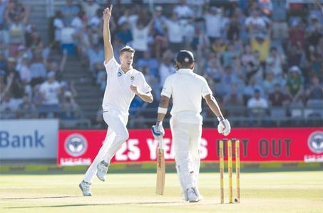 South Africa roar back to leave India in disarray