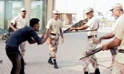 Govt seeks pardon for 5 Rangers personnel convicted of killing student in Karachi