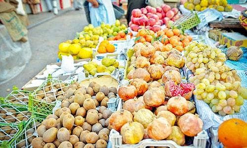 What makes fruit and vegetable prices go higher?