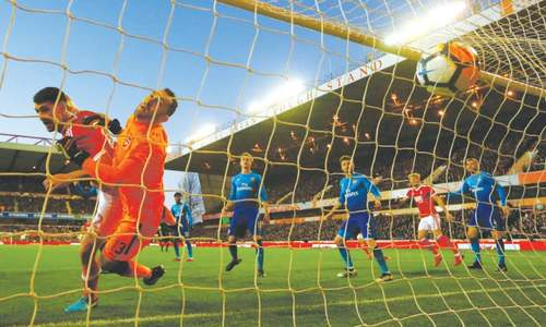 Arsenal's FA Cup defence ended by second-tier Nottingham Forest