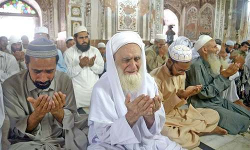 Prayer leaders' stipend to cost KP govt Rs3.25bn annually