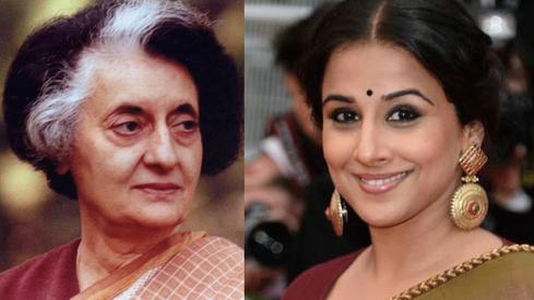 Vidya Balan is all set to play Indira Gandhi