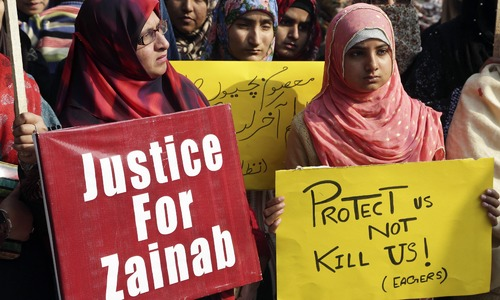 'No major breakthrough' as investigations enter fifth day in Zainab murder case