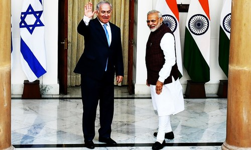 Netanyahu hails new era in ties with India