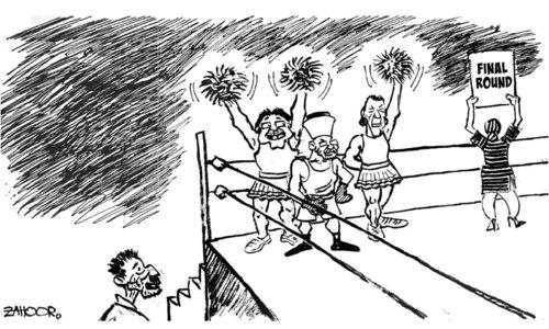 Cartoon: 16 January, 2018