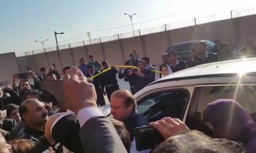 Nawaz appears before accountability court for the 13th time