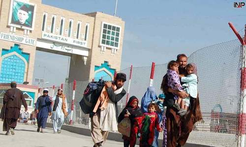 No more extension in stay of Afghan refugees