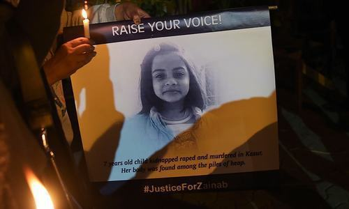 No headway in Zainab murder case
