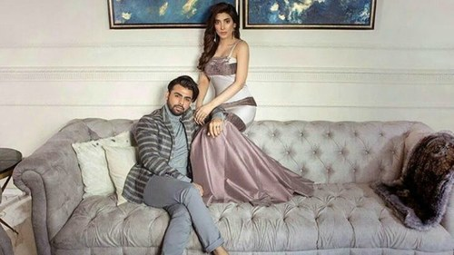Twitter gets creative with this photo of Urwa and Farhan