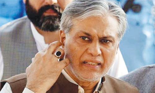 Court allowed to resume ex parte proceedings against Dar
