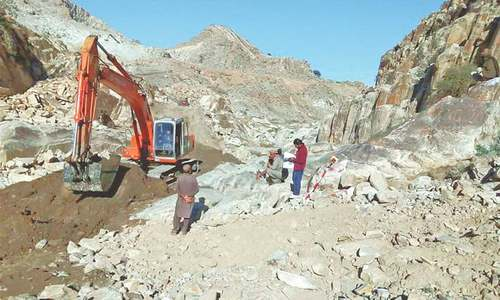 Work on Mohmand dam resumes after four years