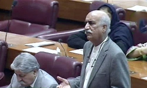 NA adopts resolution condemning Imran, Rashid's 'anti-parliament' verbal onslaught