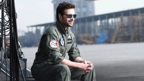 Mikaal Zulfiqar turns fighter plane pilot for Sherdil