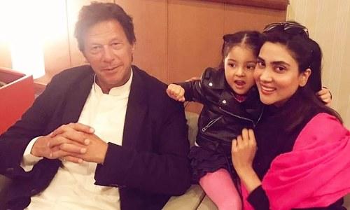 اداکارہ فضا علی کی عمران خان سے ملاقات کی خواہش پوری
