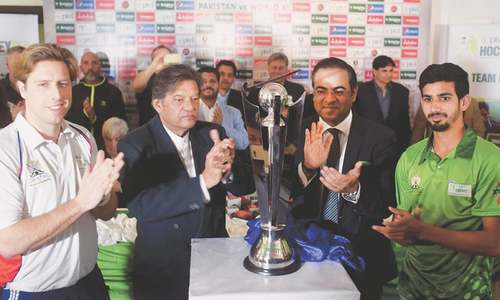 Visiting World XI players, icons vow to help in revival of Pakistan hockey