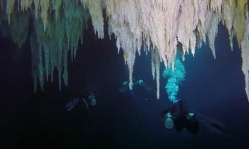 دنیا کی طویل ترین زیرآب سمندری غار دریافت