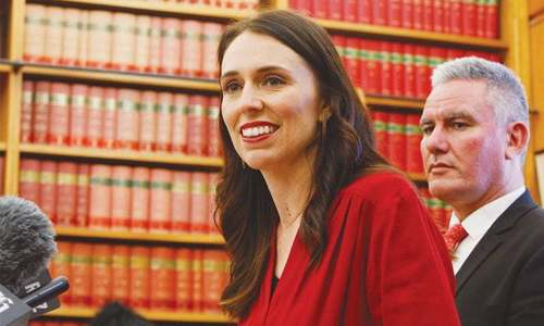 New Zealand's PM to become first leader to give birth while in office since Benazir Bhutto