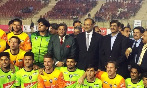 International hockey comes home as Pakistan takes on World XI