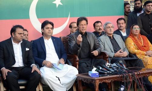 PTI lawmakers curse parliament, deputy speaker
