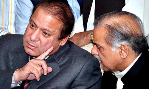Shahbaz urges Nawaz to mediate between PML-N stalwarts