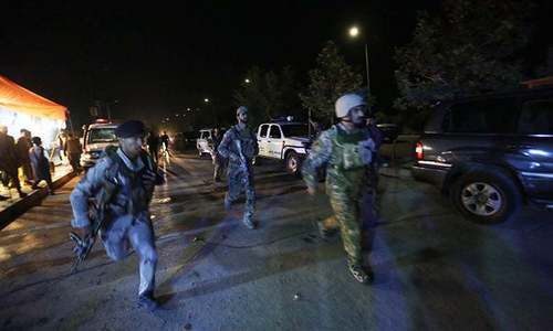 Gunmen storm Intercontinental Hotel in Kabul; attack underway