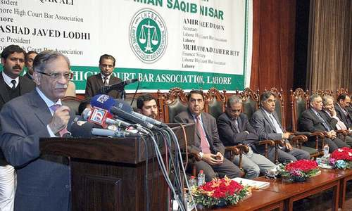 Judges won't let anyone hurt democracy, says CJP