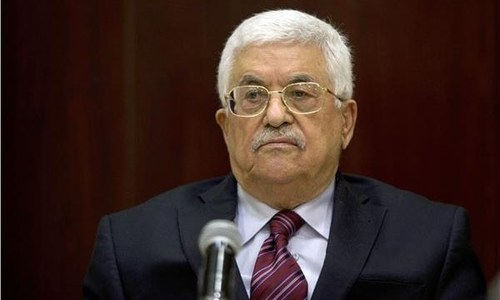 Abbas seeks EU support for Palestinians amid row with US